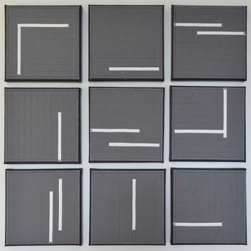 grey mostly monochromatic 100 day project debbie grifka