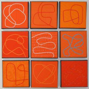 orange mostly monochromatic